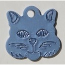 Testa gatto M (22x22 mm)